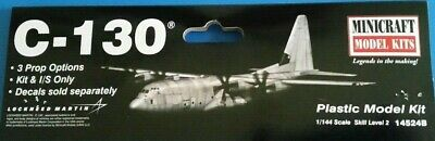 Minicraft Lockheed Martin C-130 Hercules 1/144 scale model aircraft kit -