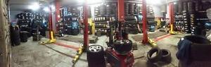 ** $12.50 Per Tire Installation + Balancing Service  - Megacity Tire Center **