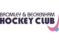 Bromley & Beckenham Hockey Club are looking for new players