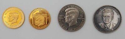John F Kennedy Ich Bin Ein Berliner Memorial Coins /