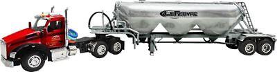 1/64 DCP LEFEBVRE KENWORTH T880 DAY CAB W/ HEIL PNEUMATIC TANKER TRAILER TTNC