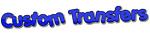 Custom Transfer Rhinestone Diamante