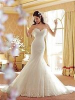 Mermaid/Sweetheart/Strapless Wedding Gown by Sophia Tolli