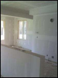 BASEMENT DRYWALL DELIVERY INSTALL & TAPE MUDDING SERVICES