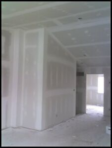 DRYWALL DELIVERY INSTALL TAPE MUDDING FINISHING