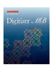 Janome Digitizer MB embroidery software