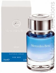 Mercedes benz sport edt perfume spray for men 120ml paypal for Mercedes benz cologne review