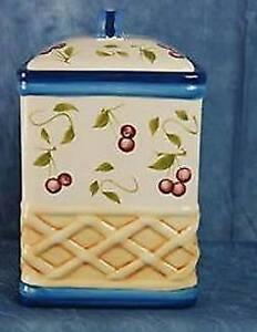 Inspirado Hand-Painted Stonelite Clay (Cookie) Jar
