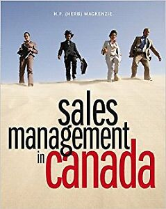 Sales Management in Canada Textbook