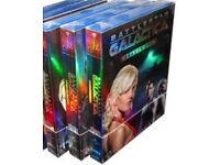 Battlestar Galactica seasons 1-4 dvd boxsets