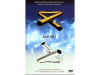 MIKE OLDFIELD TUBULAR BELLS II & III LIVE DVD