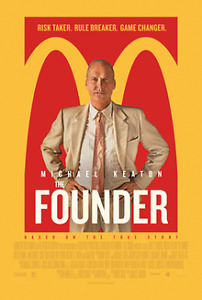 DVD The Founder blu-ray & digital copy