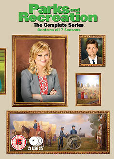 DVD:PARKS AND RECREATION - SEASON 1 TO 7 - NEW Region 2 UK