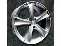 NEW 18'' ETA BETA TETSUTT ALLOY WHEELS 5X110 VAUXHALL OPEL SAAB etc
