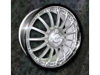 NEW 17'' KOYA MAGIC ALLOY WHEELS 4X100 VAUXHALL HONDA MINI etc