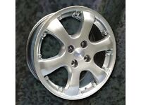 NEW 17'' ALUTEC LEON ALLOY WHEELS 4X100 VAUXHALL HONDA MINI etc
