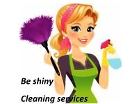 Be Shiny Cleaning Services- standard weekly/fortnight cleaning from £ 11 per hour