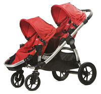 Baby Jogger City Select Double 2013 with 2nd Seat
