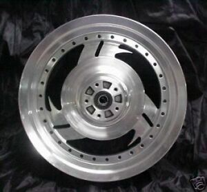 Harley Davidson Fatboy OEM Stock Motorcycle Wheels Custom Machined