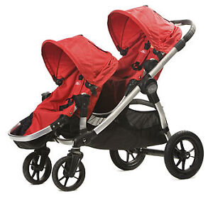 Baby Jogger City Select Double Stroller 2015 Ruby Colour