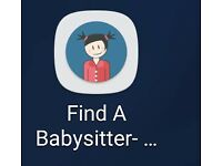 Baby sitter for over the half term and after