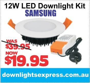 12W 11W 13W LED DOWNLIGHTS SIMPLY THE CHEAPEST AND THE FASTEST Canberra Region Preview