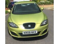 Seat Leon 1.9 TDI Diesel, citrus yellow