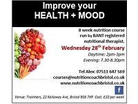 Improve your HEALTH + MOOD