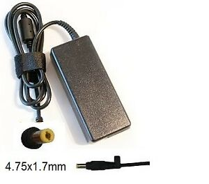 AC Adapter Notebook Charger HP 19.5V 3.33A Power 4.75x1.7mm