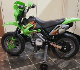 Kids Ride On Electric Bike - very good condition