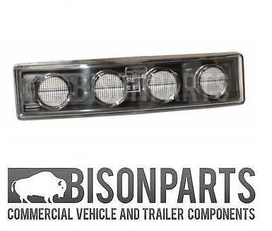 +FITS SCANIA 6 SERIES P /& R CABS 2010-2017 LED CLEAR DOWNLIGHTER SCA612 X 6