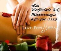 ﴾ ͌͜ ͌ Massage with ❤ ($50/h )647-460-2229 Mississauga