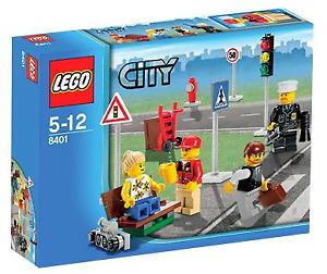 Lego City Mini Figure Collection (8401)