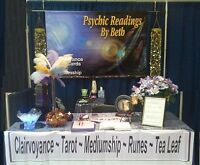 WINDSOR PSYCHIC EXPO - PSYCHIC BETH 35 YRS EXP A++ ACCURACY