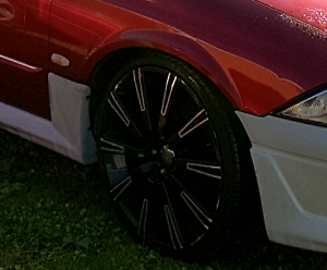 20 inch wheels with ok tyres suit post au (au ba bf fg) Lilydale Yarra Ranges Preview
