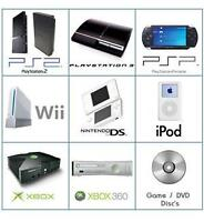 PS3 XBOX 360 WII PS2 XBOX REPAIR REPARATION SALES ACCESSORIES+++
