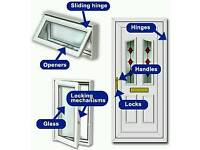 Upvc Window and door repairs. Double glazed units, hinges, locks.handles. they can be repaired.