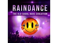1 x Raindance - The Old Skool Rave Evolution - The Ultimate 6 CD Pack Size: ONE SIZE
