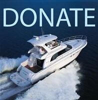 Donate your boat for a good cause and tax receipt: sailing club