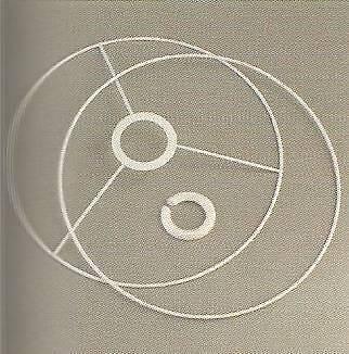 Lampenschirm-Ring Set rund 15 cm