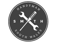 Handyman available across South Wales - call for free quote!