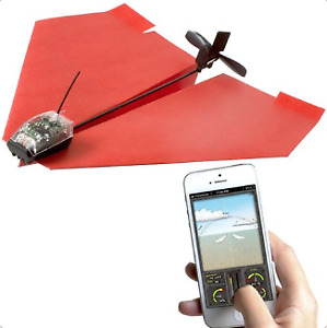 PowerUp 3.0 Smartphone Controlled Paper Airplane NEW