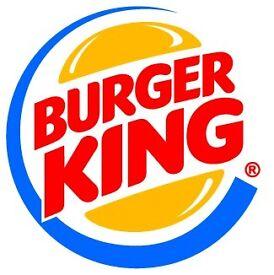 Ass't Manager - Burger King - Belfast Int'l Airport £22k + 15%