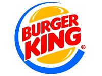 Ass't Mgr - Burger King - Glasgow Central (to £22k + 15% bonus)