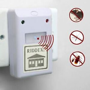 Ultrasonic Electronic Mosquito Rodent Rat Mice Insect Repellent