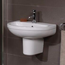 Basin Semi pedestal sink