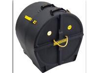 """Hardcase HN22B 22"""" bass drum case - kick drum case"""
