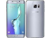 *Factory Unlocked - Excellent* Samsung Galaxy S6 Edge Plus+ 32GB Silver 4G/LTE latest Android 7