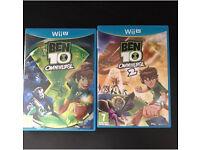 BEN 10 OMNIVERSE AND OMNIVERSE 2 Wii U GAME