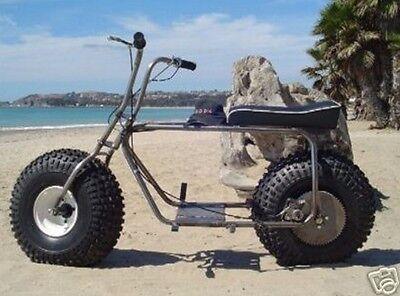 Used, GiGantIC BaLLooN  Mini Bike FRAME &  WHEEL  KIT COmpletE   for sale  Dana Point